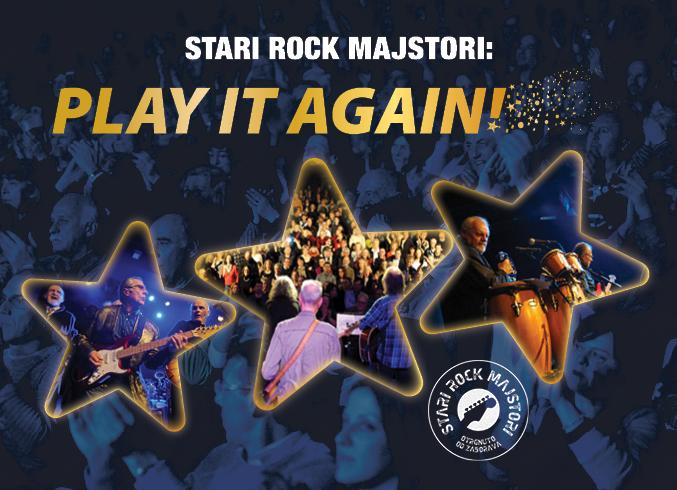 Stari Rock Majstori na koncertu